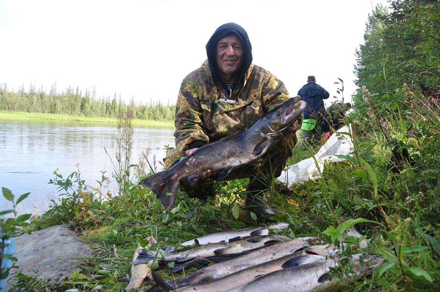рыбалка на варзуге фото